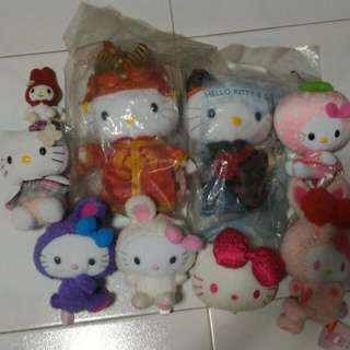Hello Kitty & Melody Soft Toys