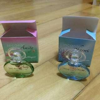2 miniature travel Salvatore Ferragamo Perfume