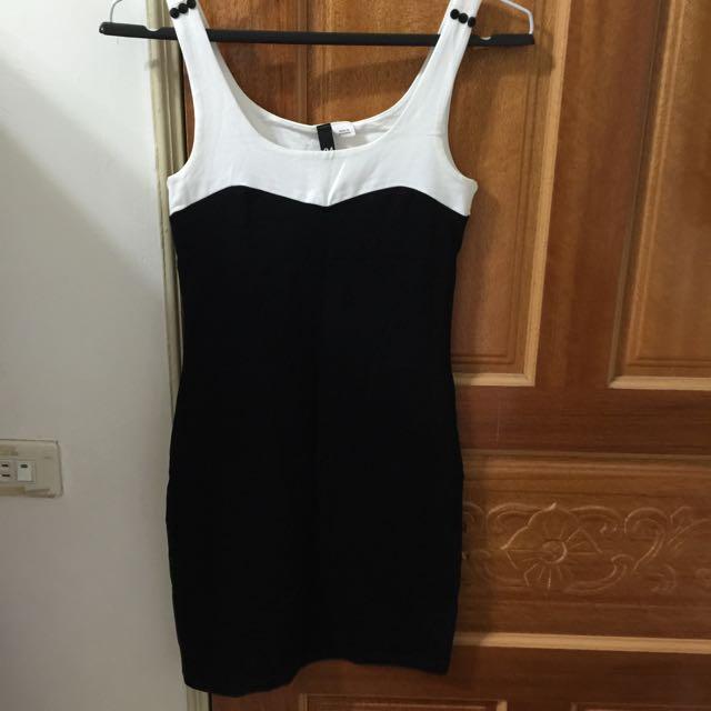 2⃣手H&M 合身洋裝