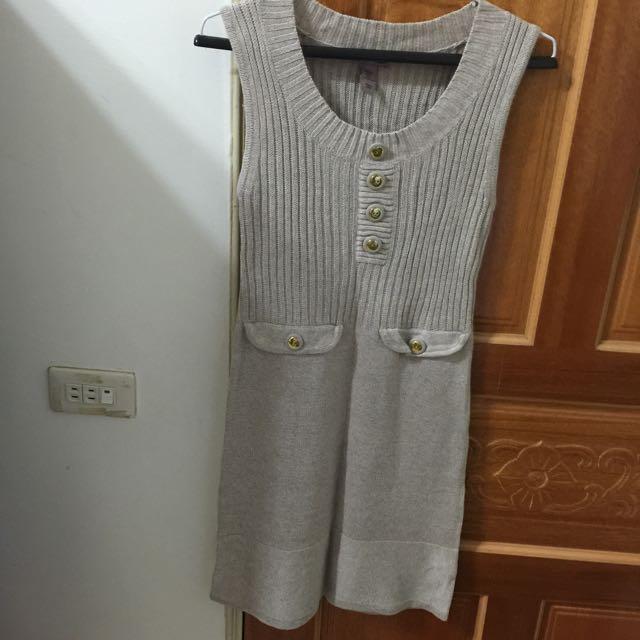 2⃣手H&M 針織合身洋裝