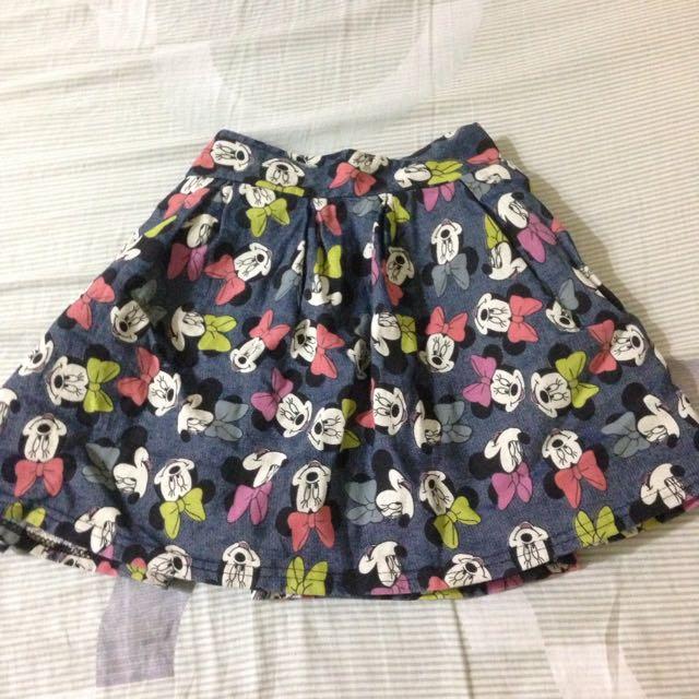 米妮滿版短裙