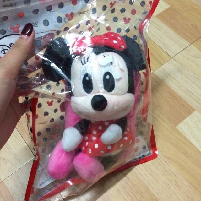 迪士尼米妮手機袋