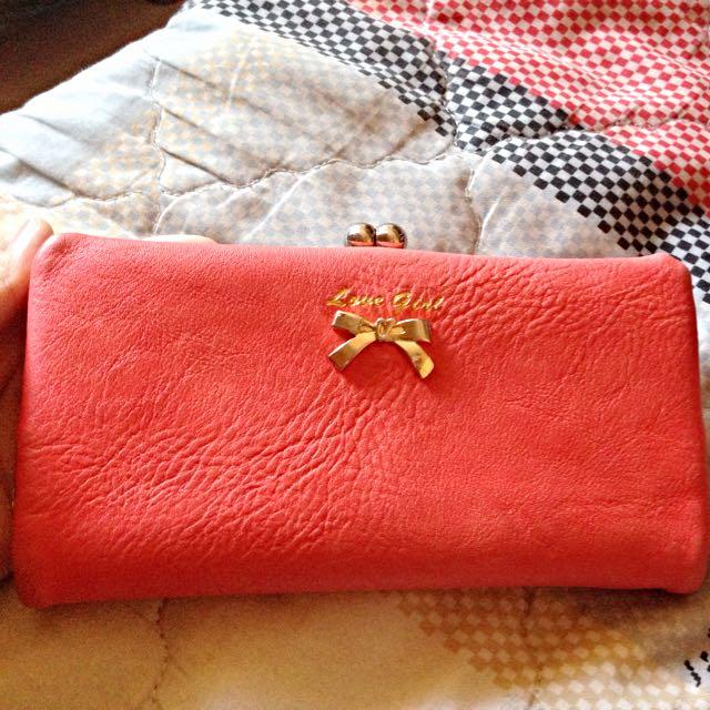 粉紅 優雅🌺皮夾/錢包