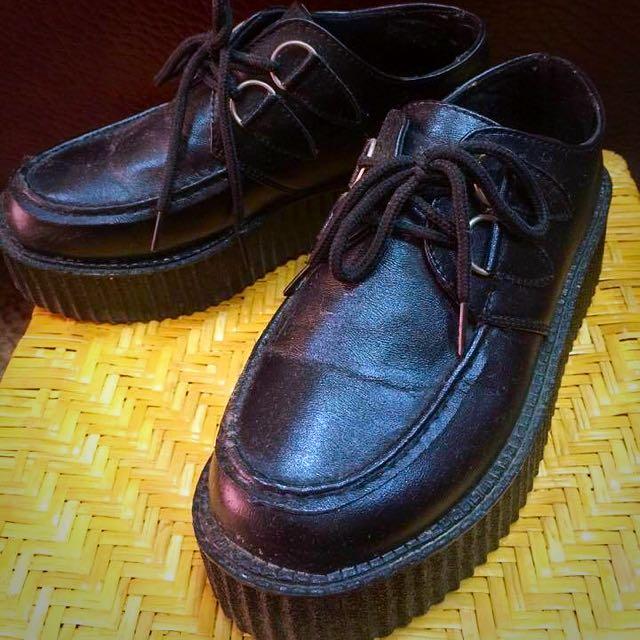 個性 厚底 鬆糕鞋