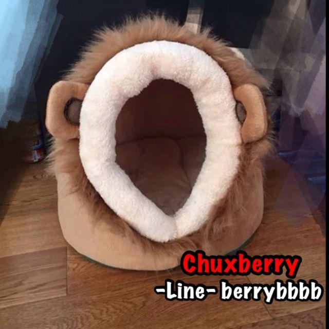 預)超可愛寵物窩 獅子/豹紋/乳牛造型 貓窩 狗窩 寵物墊