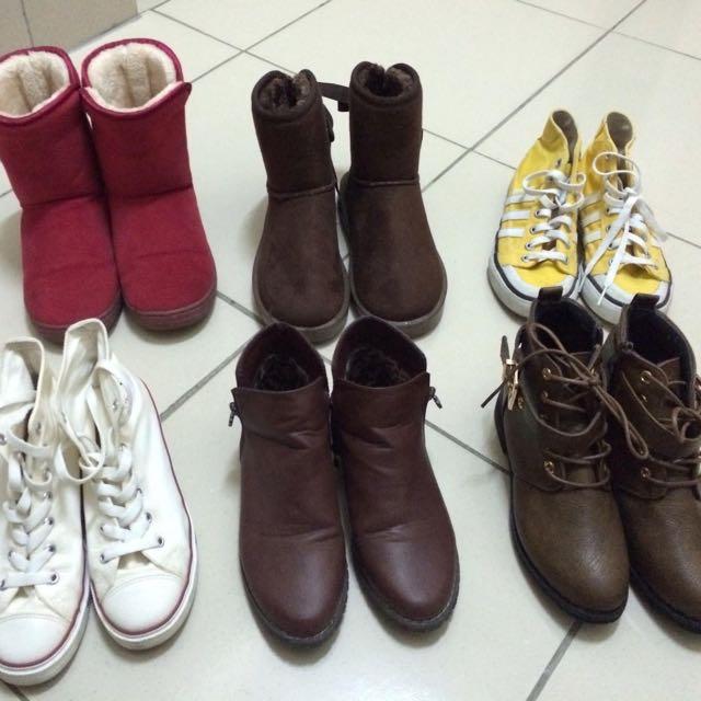 愛迪達 雪靴 軍靴 內增高