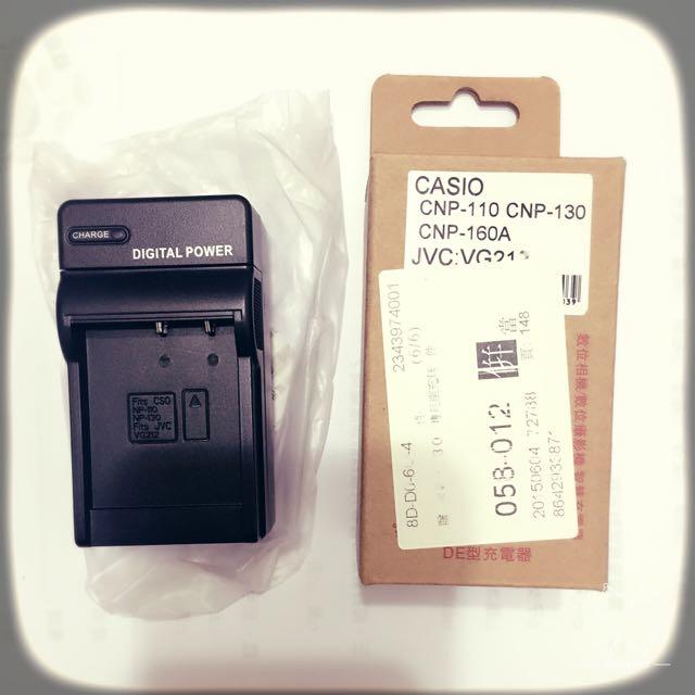 相機充電器 座充 casio CNP-110 CNP-130 CNP-160A Z系列 ZR 全新