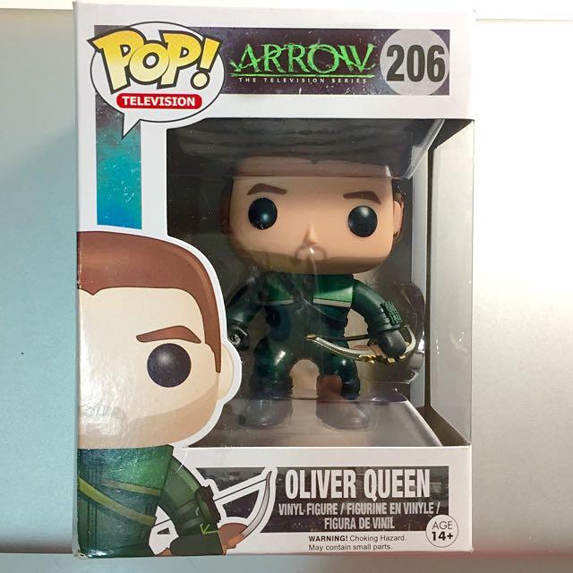 Arrow 綠箭俠 Oliver Queen 可愛版公仔