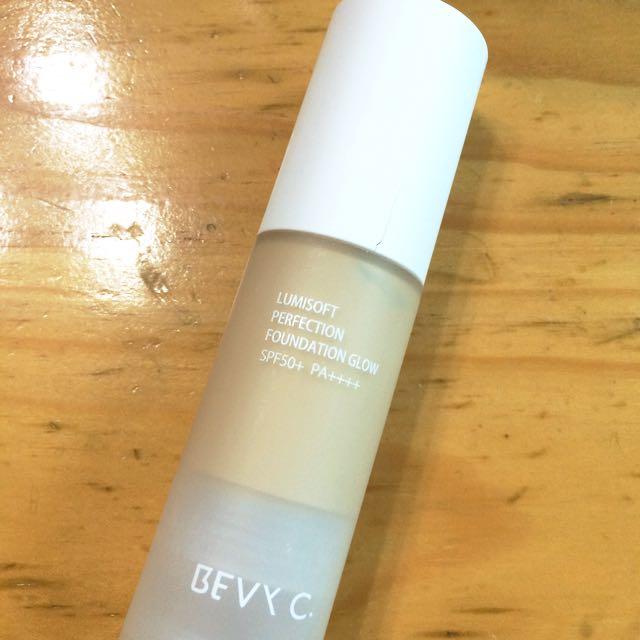 Bevyc 裸紗親膚 淨白粉底液 自然G02 SPF50 PA+++(售出)