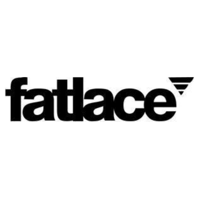 Car decal Stickers - Fatlace Logo - 10cm