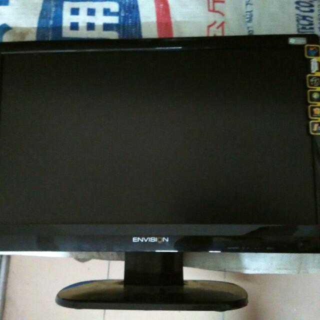 Envision P951WA19型寬鏡面黑12000比1液晶~多媒體喇叭/5毫秒反應/三年保固