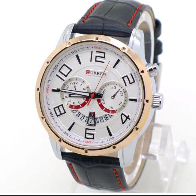 F1賽車儀表板風運動手錶 四色
