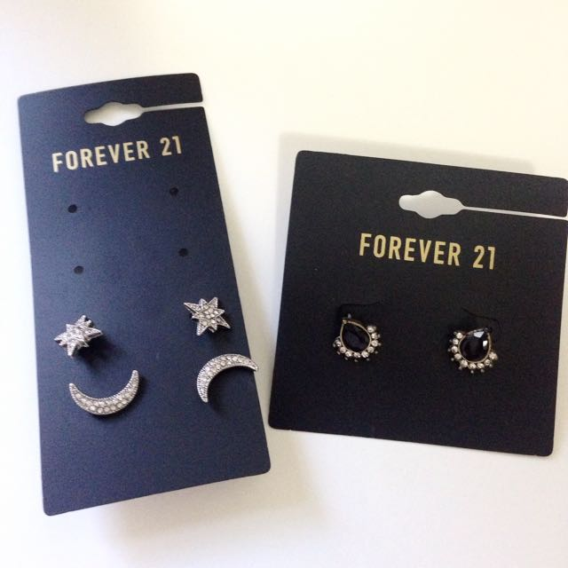 Forever21耳環全新