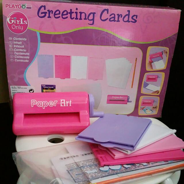 Princess Girl Greeting Card Diy Maker Machine Babies Kids On Carousell