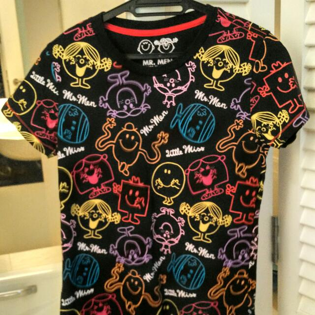 authentic quality purchase cheap official Mr Men Little Miss t shirt, Women's Fashion on Carousell
