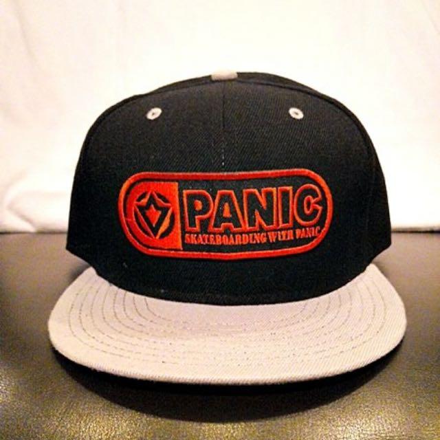 PANIC Skateboarding Ok蹦 SnapBack 帽子(二手)