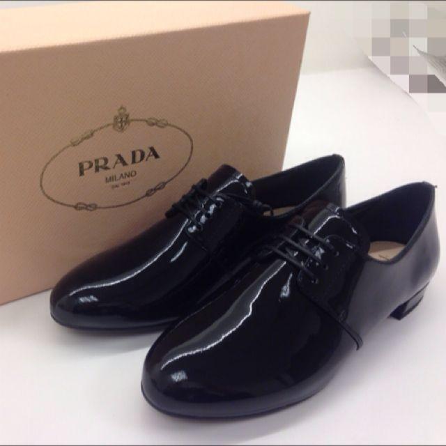 PRADA 女性牛津鞋36.5