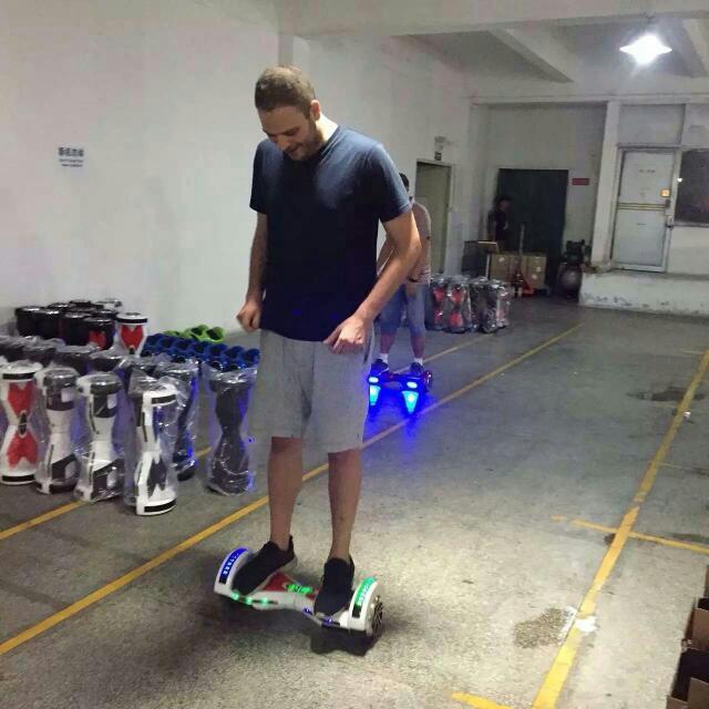 Self Balancing Scooter With Bluetooth Speaker (Sporting & Enjoying Music)