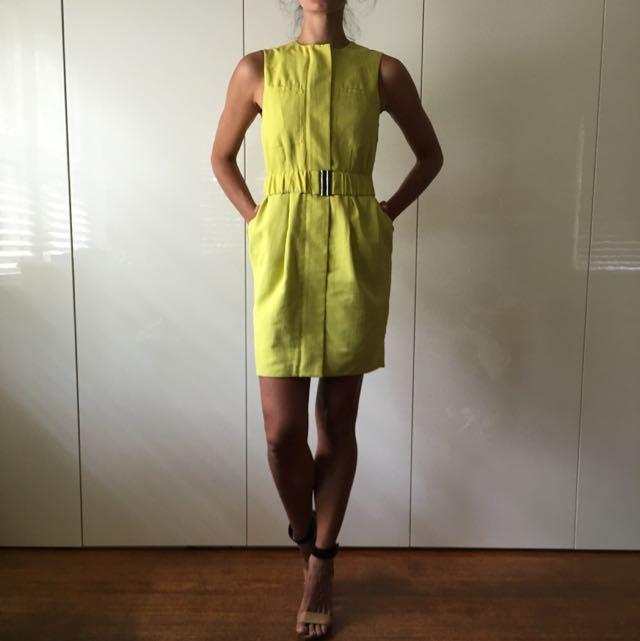 Yellow Asos Dress.