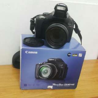 canon  SX40HS 類單相機