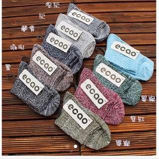 Ecao 中統雪花襪❄️