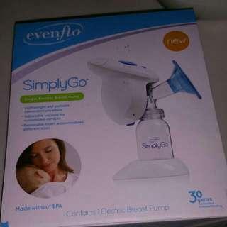 Evenflo SimplyGo Single Electric Breast Pump
