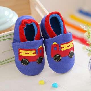 🚚 豬皮手工學步鞋 軟膠底 寶寶鞋 出清 全新