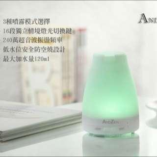 【ANDZEN】日系風格香氛負離子水氧機