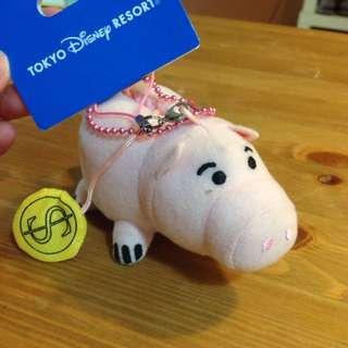 東京迪士尼 disney resort 玩具總動員 小豬/火腿 吊飾
