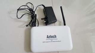 aztech hw550-3g 4-Port Wireless-N 3G Router