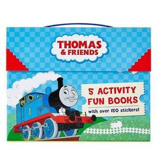 英國進口,限量,湯瑪士小火車童書,遊戲書,遊戲貼紙