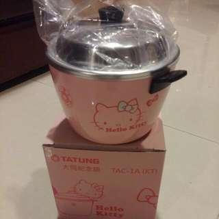 大同kitty粉色小紀念鍋
