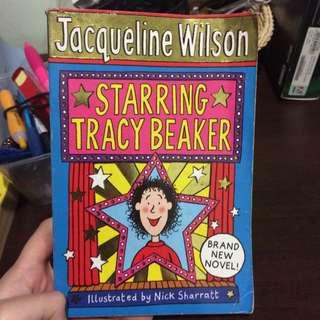 Jacqueline Wilson Starring Tracy Beaker
