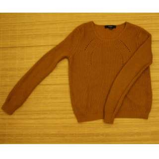 Mustard knitted sweater F21 (Reserved)