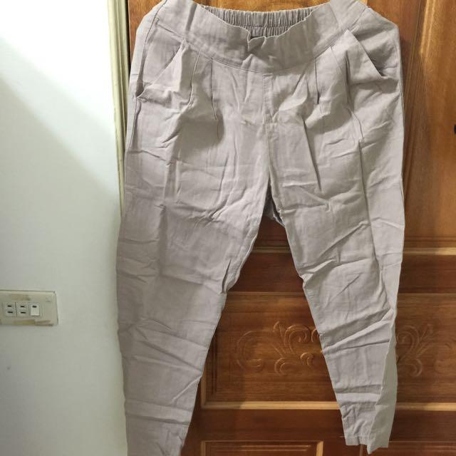 2⃣手棉麻材質 長褲