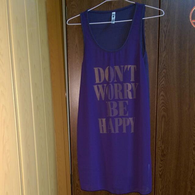 9成新,紫色長版衣