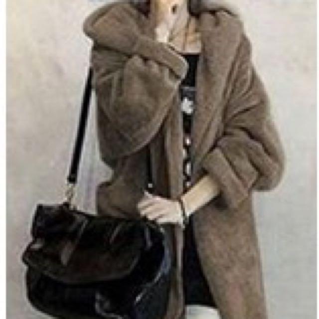 韓風加厚連帽羊羔絨大衣開衫外套