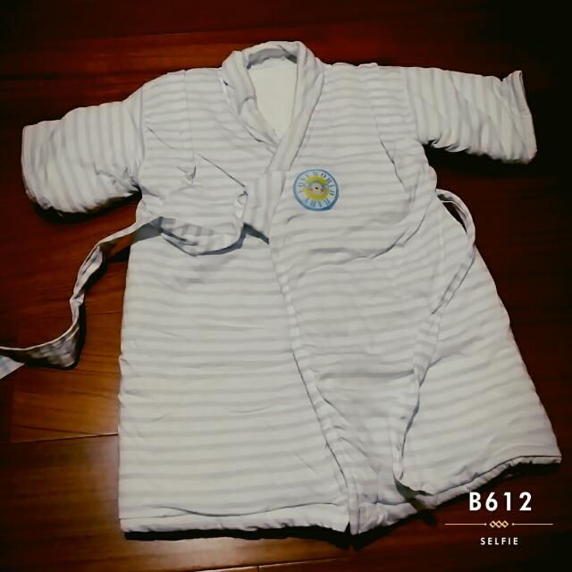 ✔秋冬保暖厚鋪棉長版日式和服相抄鋪棉外套