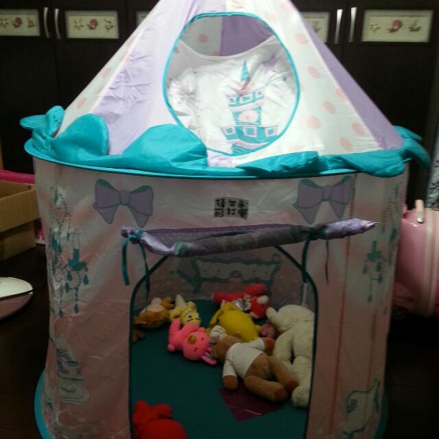 城堡造型小孩玩具屋