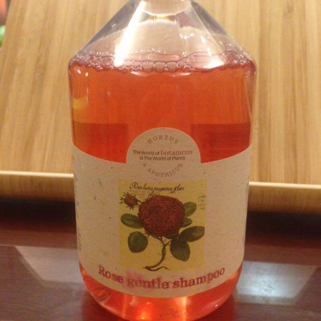 菠丹妮 Botanicus 玫瑰精油洗髮精 Rose Gentle Shampoo