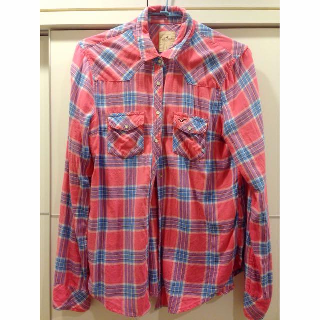 美國平價品牌 Hollister 秋冬限量版襯衫(含運)