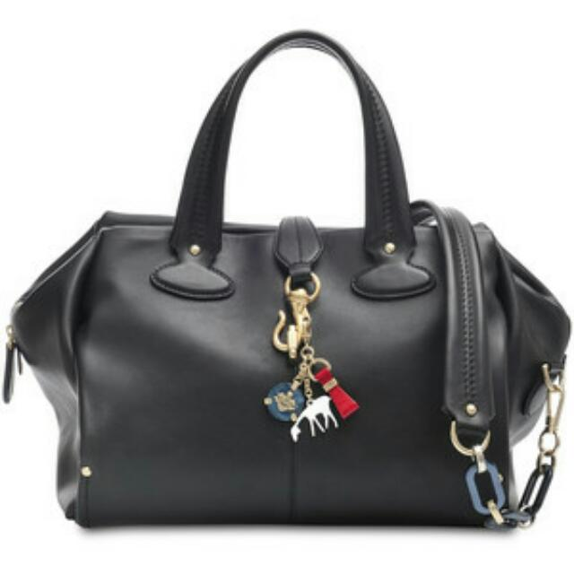 5b95ebe7ef42 Bally's Madrielle Bowling Bag In Black, Women's Fashion on Carousell