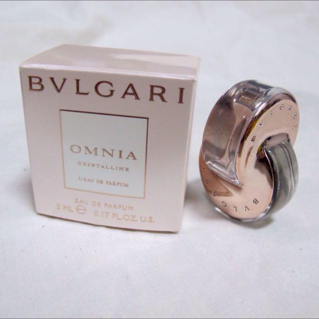 Bvlgary小香 5ml 晶澈女性淡香