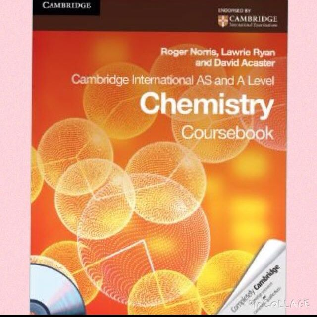 Chemistry Alevels Textbook