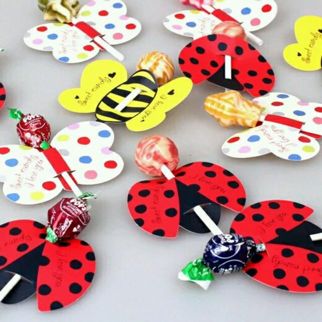《HONEY PARTY》FA05❤棒棒糖裝飾紙卡❤ 婚禮小物/探房禮/二次進場/生日禮/~25張