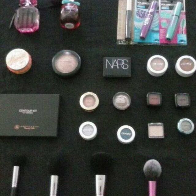 Lots Of Never Use Makeup And Perfume