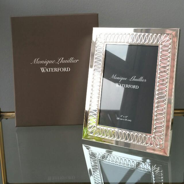 Monique Lhuillier Waterford Opulence Silver Frame 46 Gift