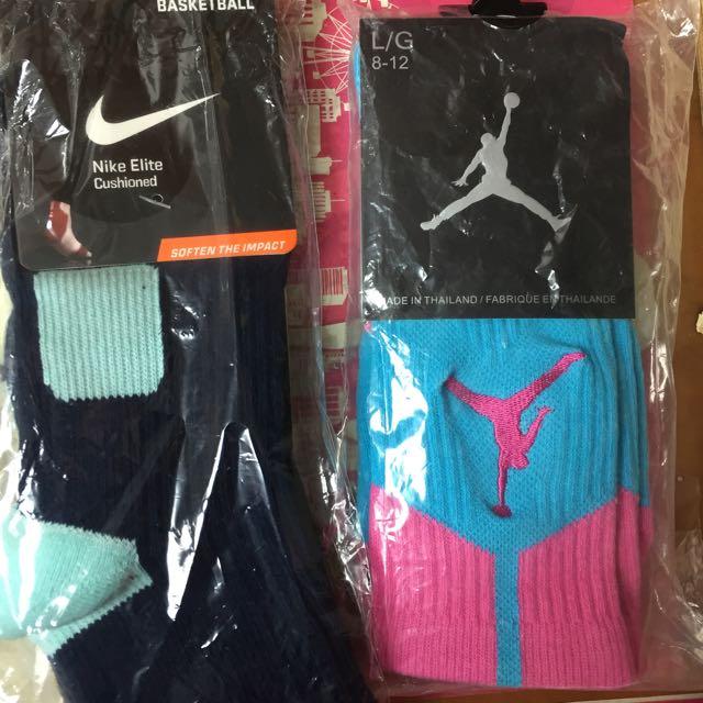 Nike長筒運動籃球襪(全新。美國代購)