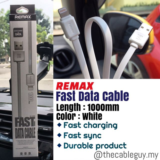 Original Remax Fast Data Cables For IPhone And Android (micro Usb)