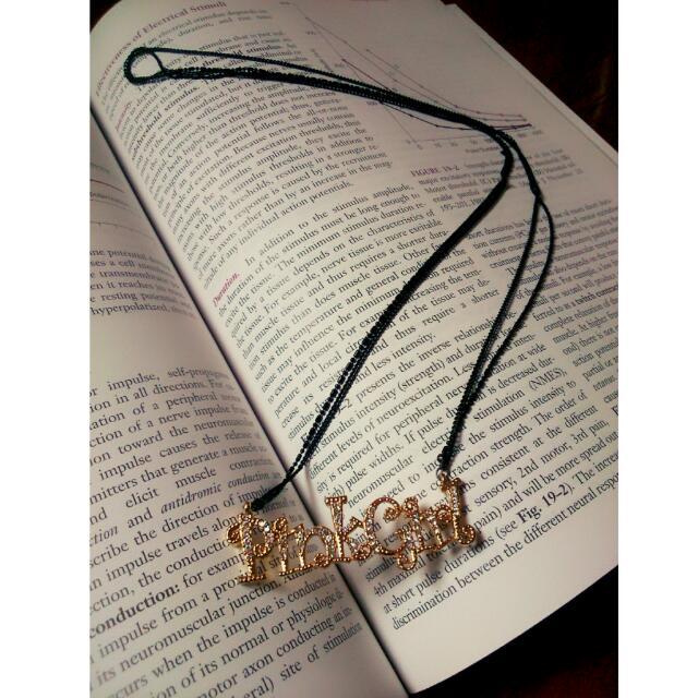 👯PinkGirl 質感晶鑽項鍊 💎